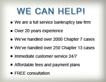 We Can Help With Maryland Bankruptcy. Chapter 7. Debt. Bills. Bankruptcy Lawyer